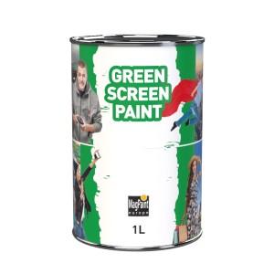 Greenscreen verf 1 liter Maisonmansion