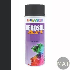 Spuitbus RAL 9011 mat aerosol