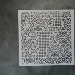 Aged Wallpaper sjabloon 50 x 50 cm