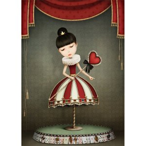 Fairy Queen decoupage