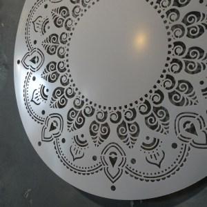 4 Mandala sjabloon 30 cm
