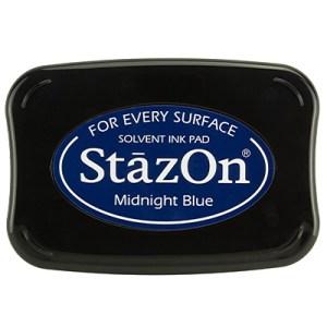 Midnight Blue Inkt StaZon