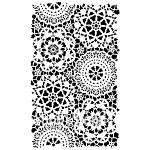 Posh Hippy Lace sjabloon 120 x 80 cm