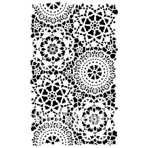 Posh Hippy lace sjabloon 35 x 49 cm
