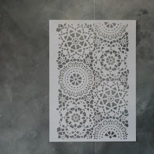 Posh Hippy Lace sjabloon 120 x 80 cm