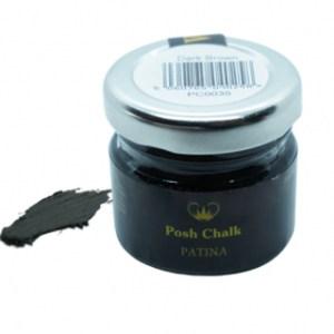 Dark Brown Patina Wax Oil