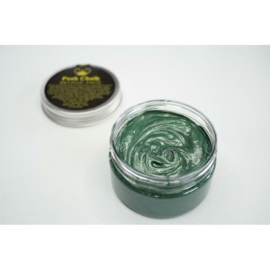 Green Dark Smooth Metallic Paste