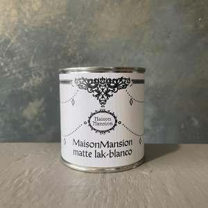 Matte lak Blanco MaisonMansion 250 ml