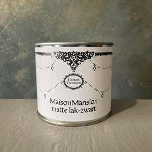 Matte lak Zwart MaisonMansion 500 ml