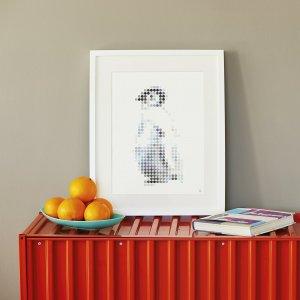 Pinguin DIY poster 50 x 70 cm