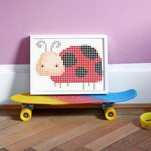 Lieveheersbeestje DIY poster 30 x 40 cm