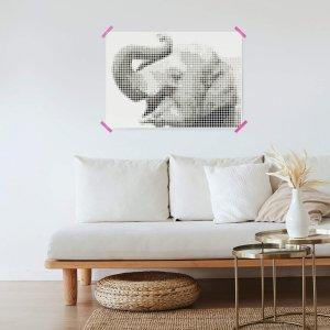 Olifant DIY poster 50 x 70 cm