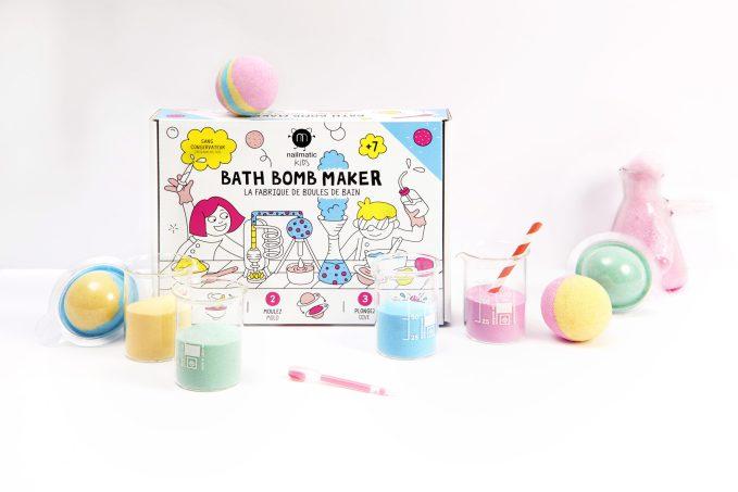 fabrique de boule de bain nailmatic