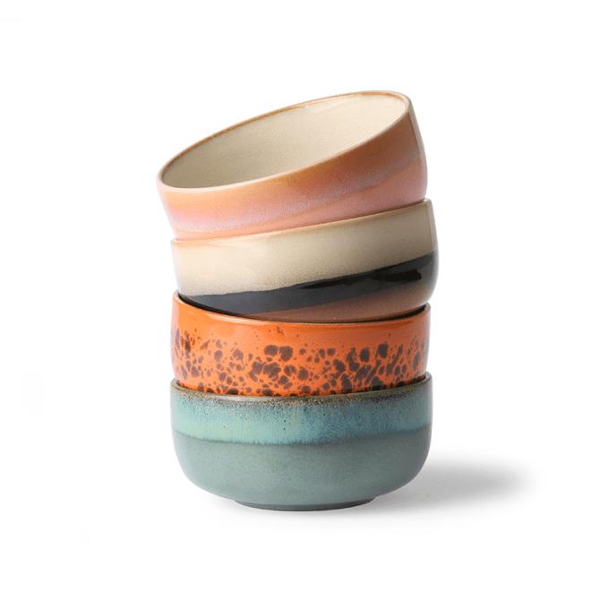 4 bols en céramique hk living