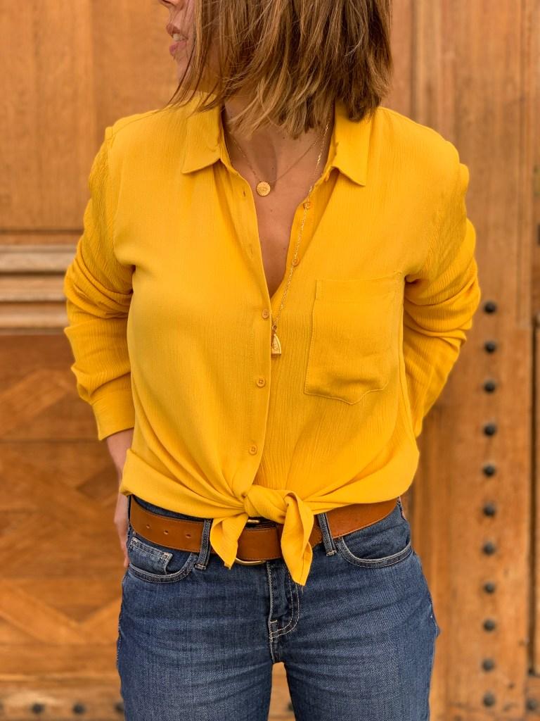 chemise-moutarde-crêpe-maison-prune