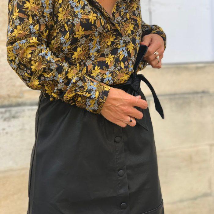 chemise imprimée, chemise fleurie, chemise tendance