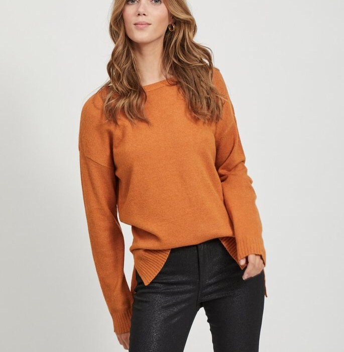 pull, basique, orange, vila, maison, prune