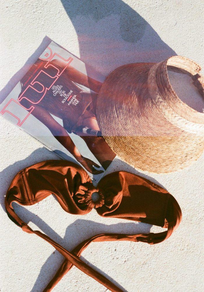 bandeau bel air, maillot de bain bel air, maillot de bain icône, icône lingerie, maison prune