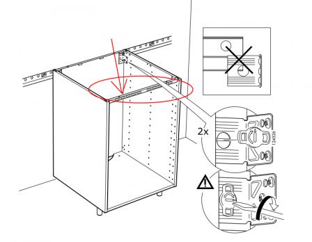 Caisson Ikea Metod Cuisine