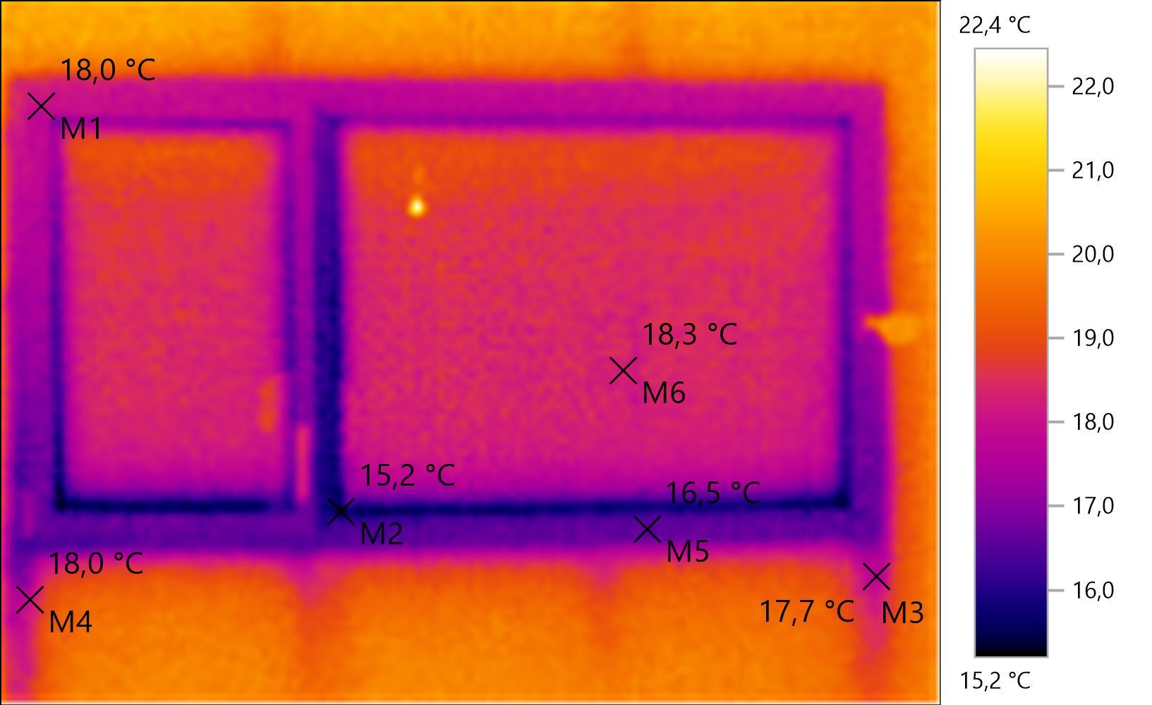 Test de la camra thermique Testo 875  Construction de notre maison RT2012