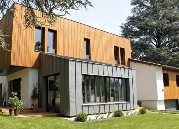 Interieur Maison Bois Contemporaine | Voir Interieur Maison Moderne ...