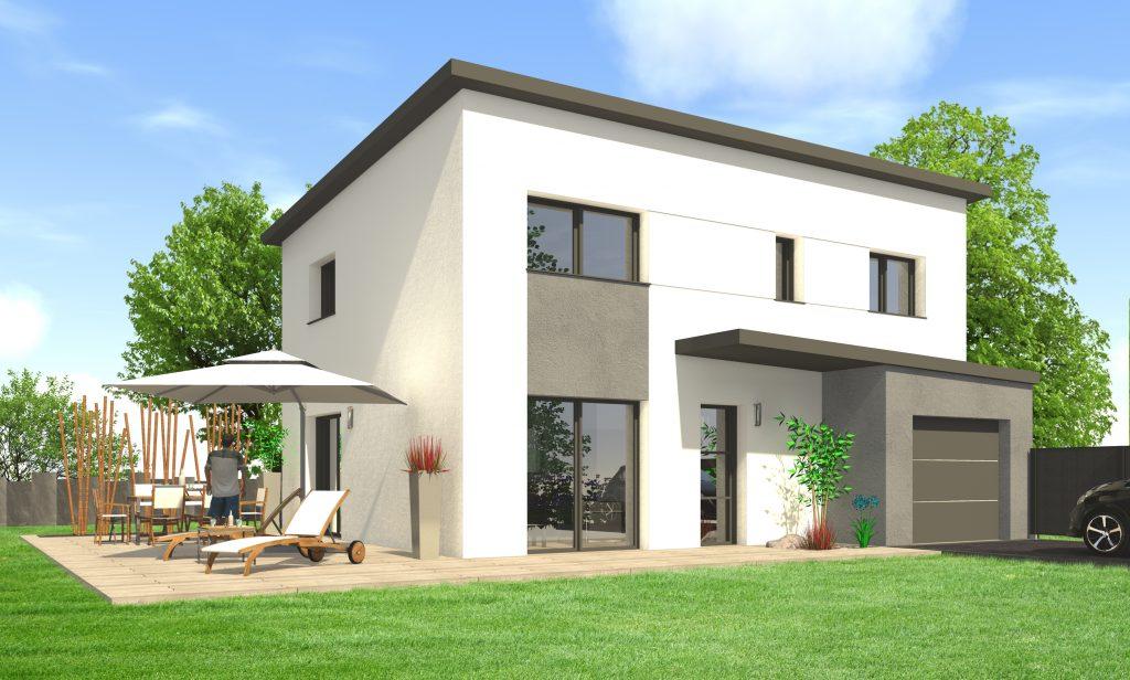 Construire Une Maison Moderne Maisons Clefs DOr