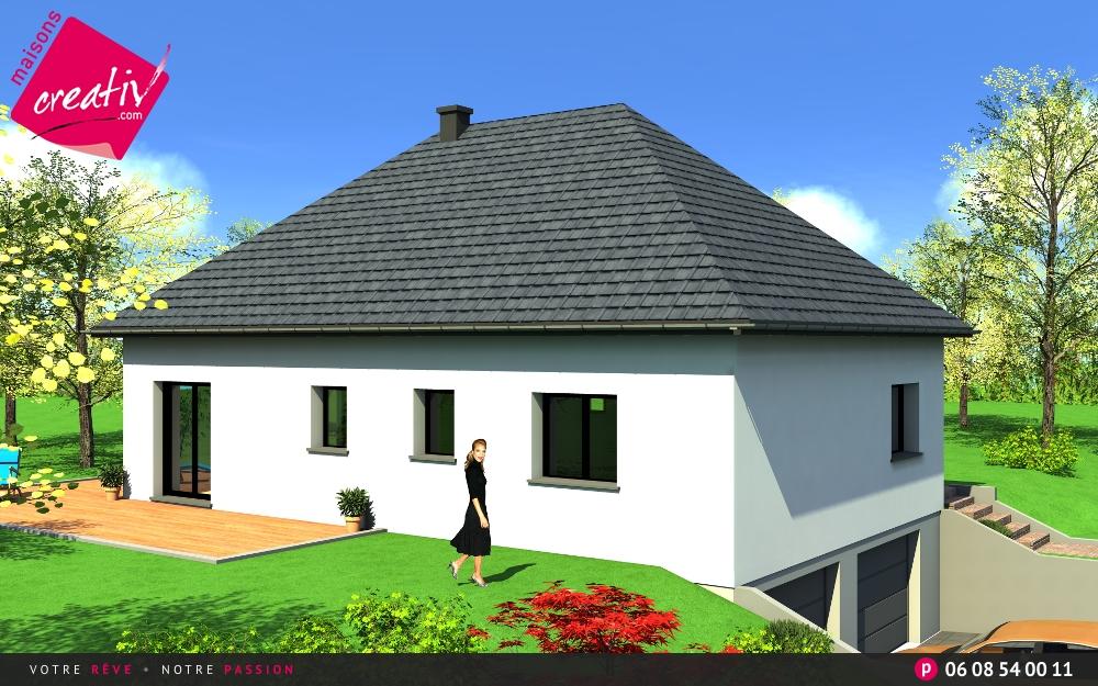 maisons creativ modle noemie ua with maisons creativ. Black Bedroom Furniture Sets. Home Design Ideas
