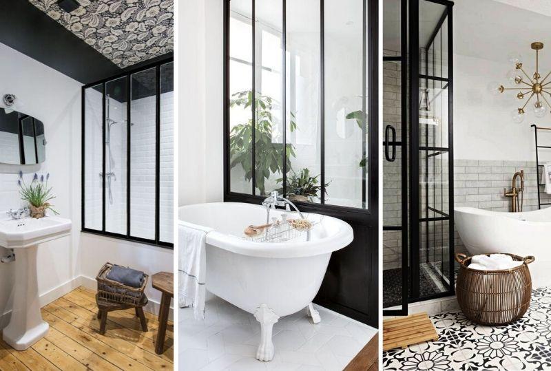 10 Idees De Salle De Bain Avec Verriere Maisons De Campagne
