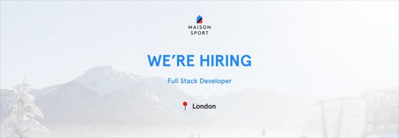 , We're hiring – Full Stack Developer, Laravel & VueJs