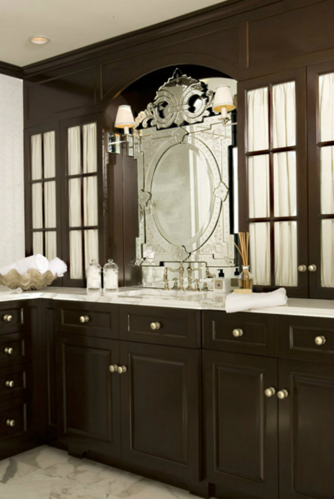 Most amazing venetian mirrors for your bathroom