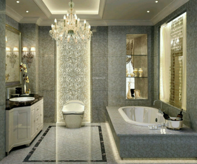 The most amazing luxury bathrooms inspirations