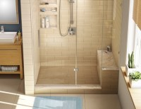 Shower Seating Design Ideas for luxury bathrooms