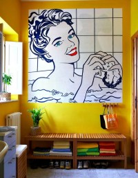 Wall Art for Small Bathrooms