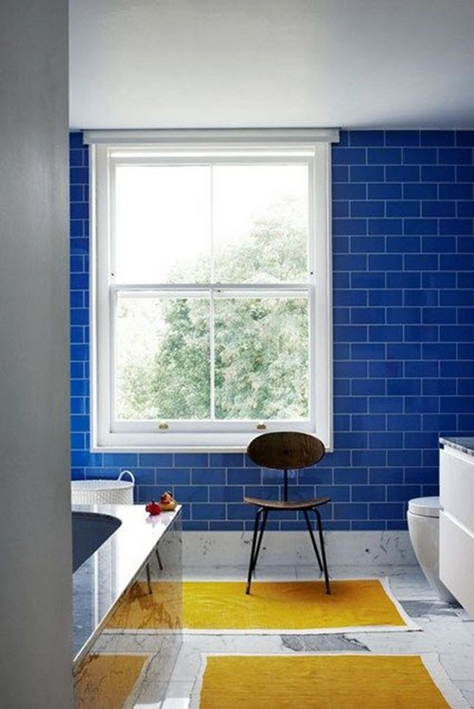 Blue And Yellow Bathrooms To Create A Timeless Color Scheme