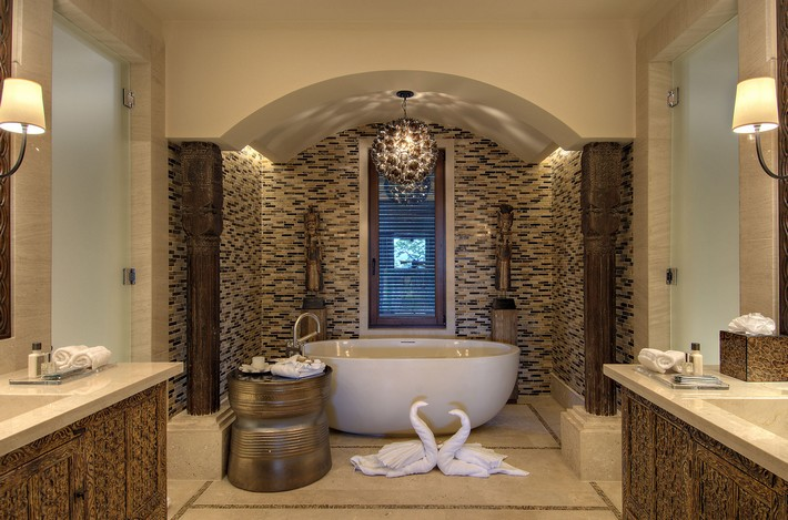Amazing Stone Bathroom Design Ideas