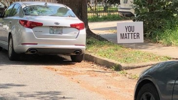 """""""You Matter"""" signs appear across New Orleans"""