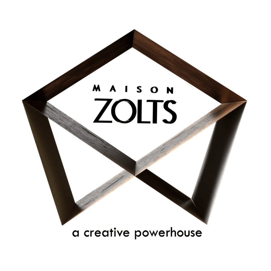 Maison ZOLTS LogoMaison ZOLTS Creative Storytelling Services and Graphic Design for Businesses