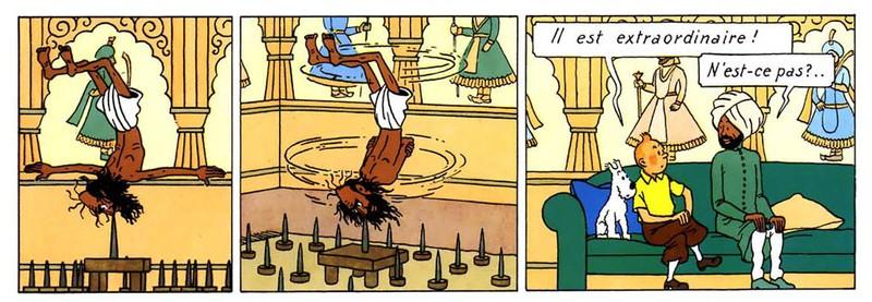 Le Fakir de Hergé, ce web-précurseur
