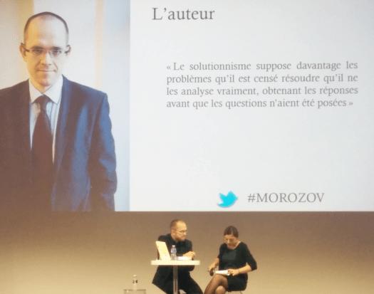 Evgeny Morozov présente son nouvel ouvrage