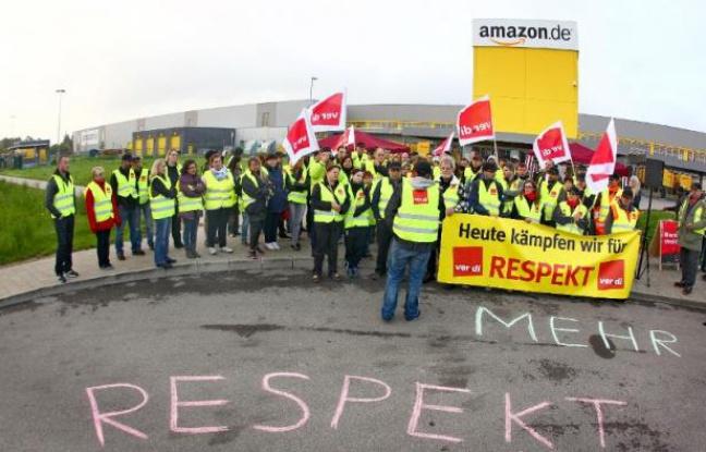 Amazon: les salariés de quatre sites allemands de nouveau en grève