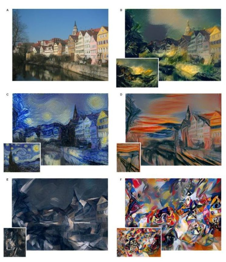 Quand la machine imite l'artiste grâce au deep learning