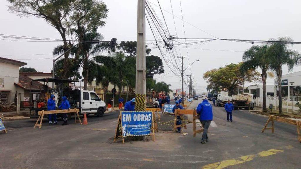 Obras avenida Iraì
