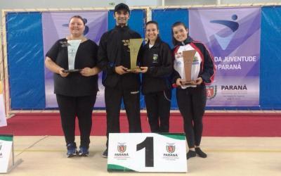Pinhais se destaca nos Jogos da Juventude do Paraná