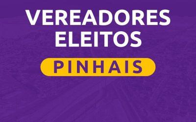 Lista de Vereadores eleitos em Pinhais nas Eleições 2020