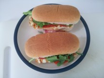 Halloumi Sandwich Cooking Diaries