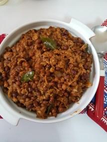 Chana Bhaji Cooking Diaries