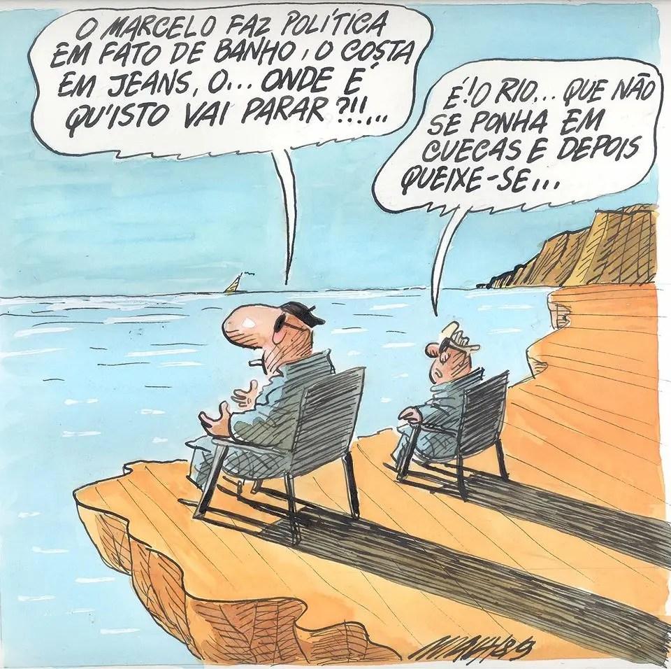 Cartoon António Maia