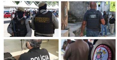 Bahia inicia vacinação de policiais