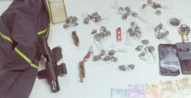 Suspeito de participar da morte de policial