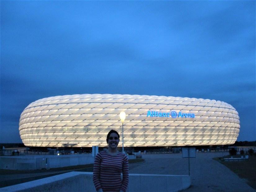 Estádio de futebol Allianz Arena, Munique